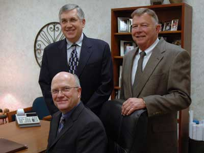 BBC Pump Founders, Bill Crandall, Dell Brinker, and Bill-Baar