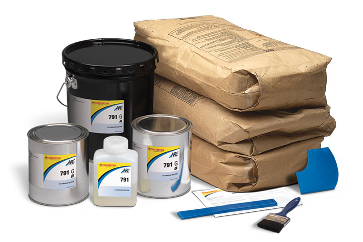 Chesterton 791 Concrete Resurfacer Coating