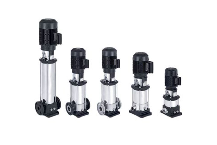 Ebara EVMSU vertical multi-stage inline pump