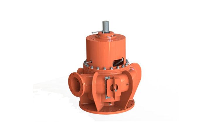 Fairbanks Nijhuis SRWV Vertical Screw Channel Pump