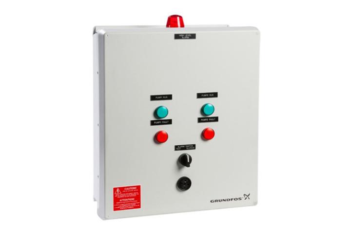 Grundfos DLC Duplex Level Control Panel