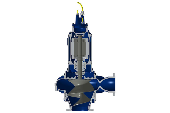 Hidrostal Submersible Centrifugal Screw Pump
