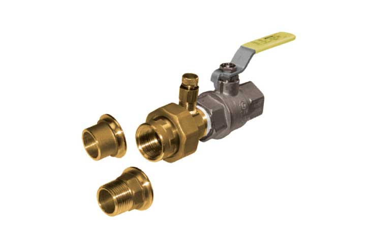 NT SS Stainless Steel Combination Ball Valve
