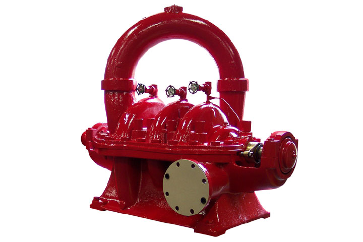 Peerless TUF / TUTF Multi-Stage Split-Case Fire Pump