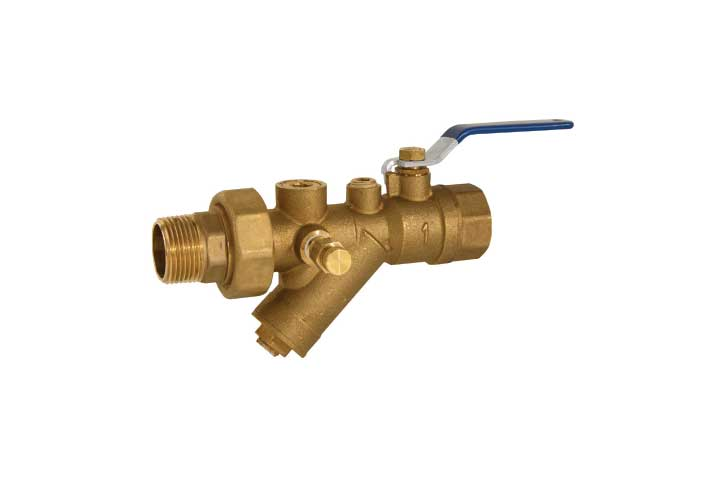 TY SS Stainless Steel Combination Y-Strainer Valve