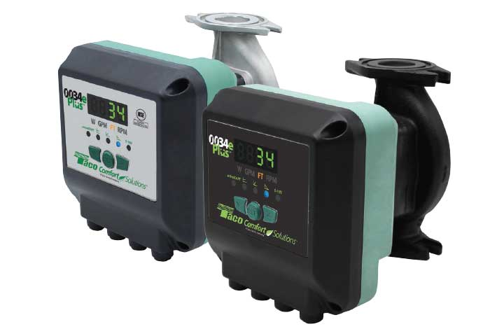 Taco 0034e Plus ECM VFD Circulator Pump