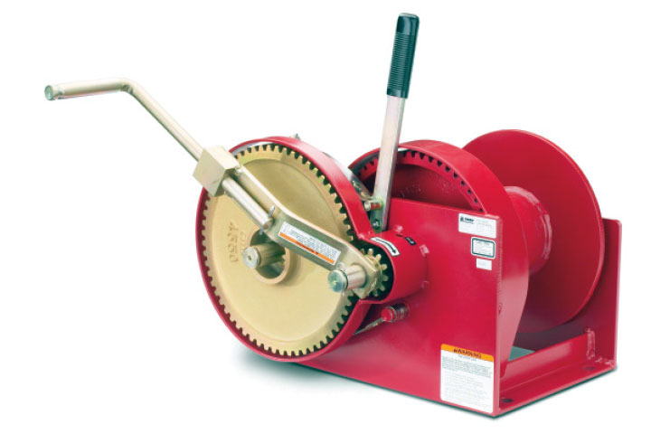 Thern 492 Spur Gear Hand Winch