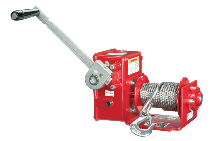 Thern 4WM2 Worm Gear Hand Winch