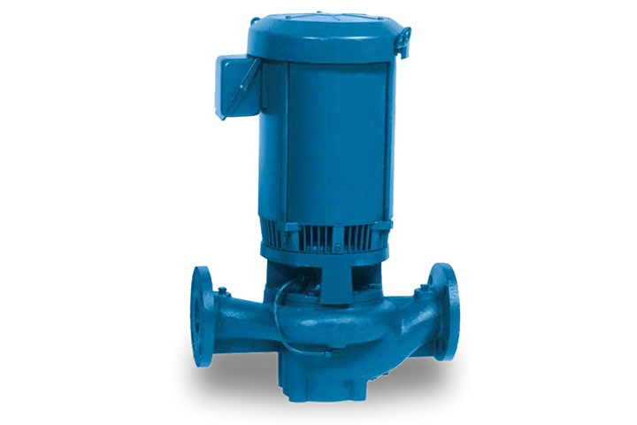 382A Single-Stage Vertical Inline Centrifugal Pump