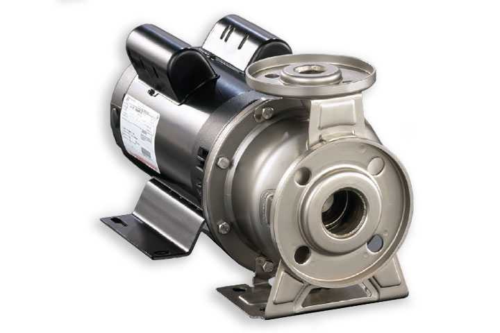Ebara 3U stainless steel end suction centrifugal pump
