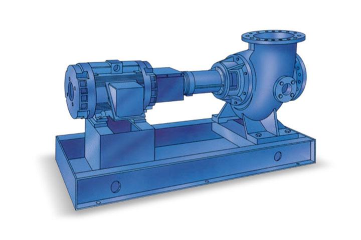 Fairbanks Nijhuis 5720 Horizontal Angleflow Solids-Handling Pump