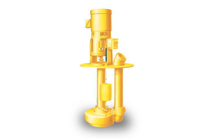 631 Simplex Single-Stage Vertical-Wet Pit Solids-Handling Pump