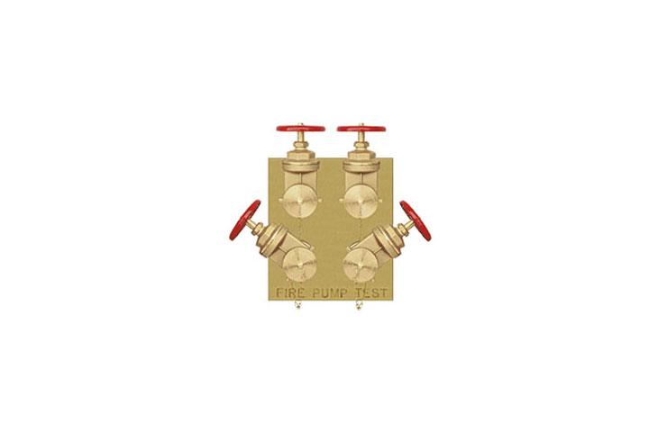 Guardian four-way flush fire pump test connection