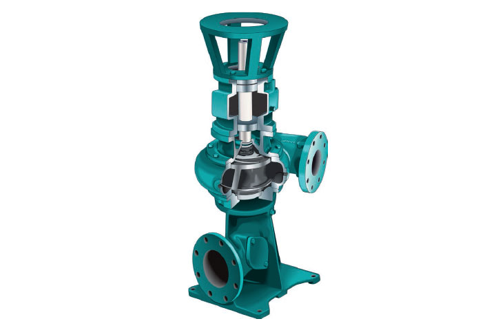 Cornell NHTB End Suction Solids-Handling Pump