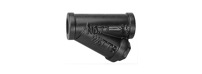 77S threaded cast iron y strainer