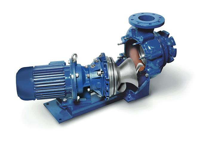 Hidrostal End-Suction Centrifugal Screw Pump