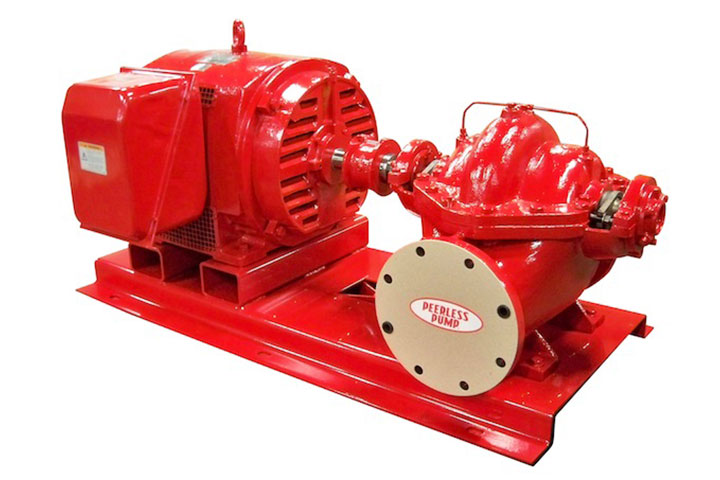 Peerless AEF Horizontal Split-Case Fire Pump