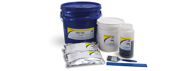 ARC CRC Composite Coating Rebuilding-Protecting Surfaces Cavitation