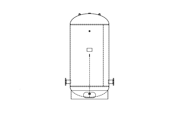 American Wheatley Chilled Water Buffer Tank