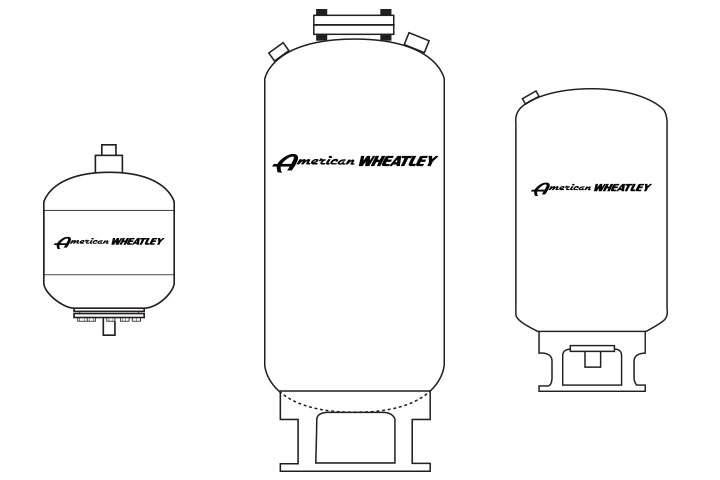 American Wheatley BDT ASME Bladder Expansion Tank