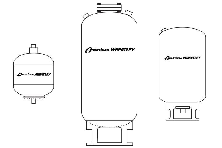 American Wheatley BDT ASME Bladder Expansion Tank
