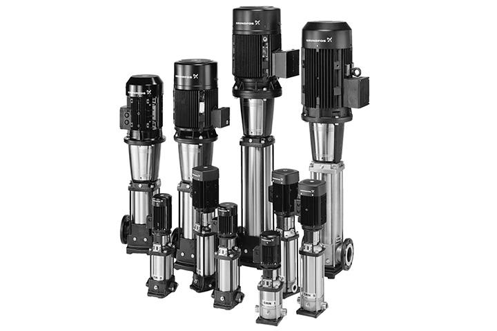 Grundfos CR Vertical Multi-Stage Inline Pump