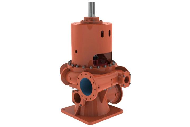 Fairbanks Nijhuis ERWV solids-handling end suction pump