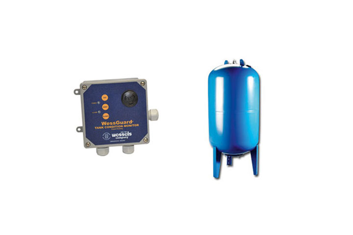 Wessels FXA-WG ASME Smart Bladder Expansion Tank