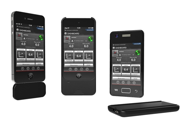 Grundfos GO Remote Mobile Pump Interface for iOs and Android