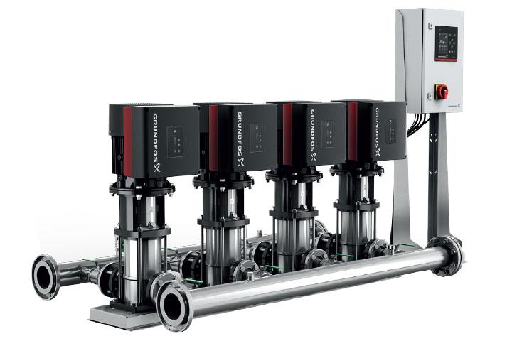 Grundfos BoosterpaQ MPC-e Booster Pump System