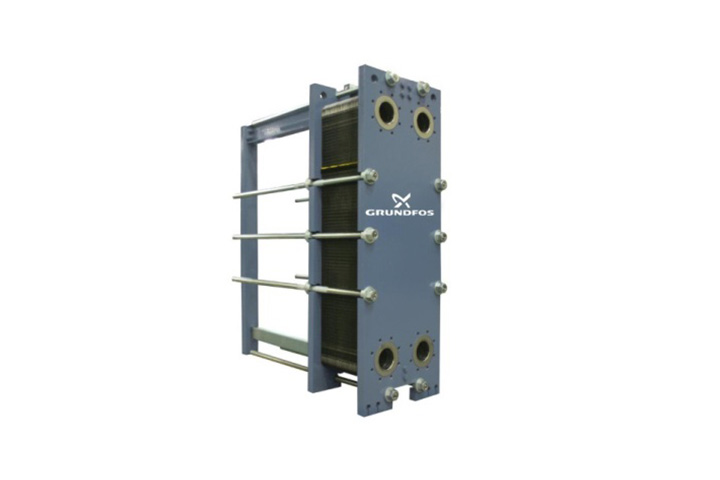Grundfos Gasketed Plate and Frame Heat Exchanger