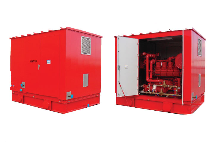 Peerless Packaged Fire Pump Systems