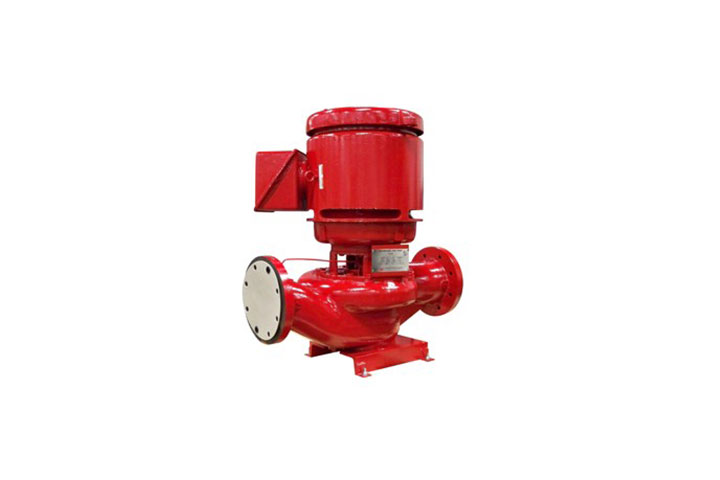 Peerless PVF Inline Fire Protection Pump