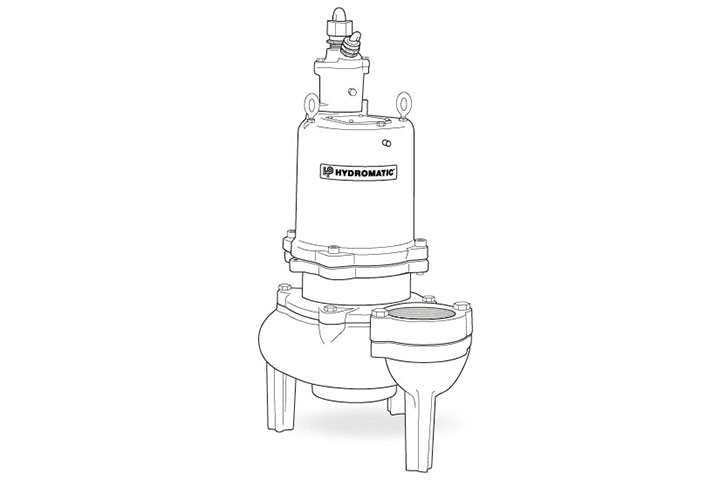 Hydromatic S3H submersible vortex pump