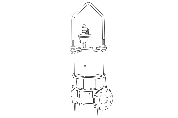 Hydromatic S4B Submersible Solids-Handling Pump