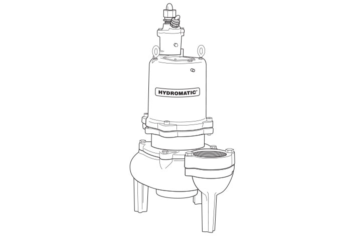 Hydromatic S4F submersible solids-handling pump