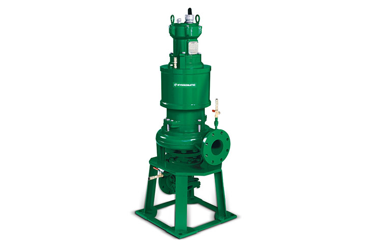 Hydromatic SD4T dry-pit submersible solids-handling pump