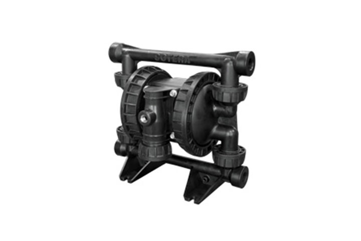 SP100-05B-CD-HHH non-metallic air-operated diaphragm pump