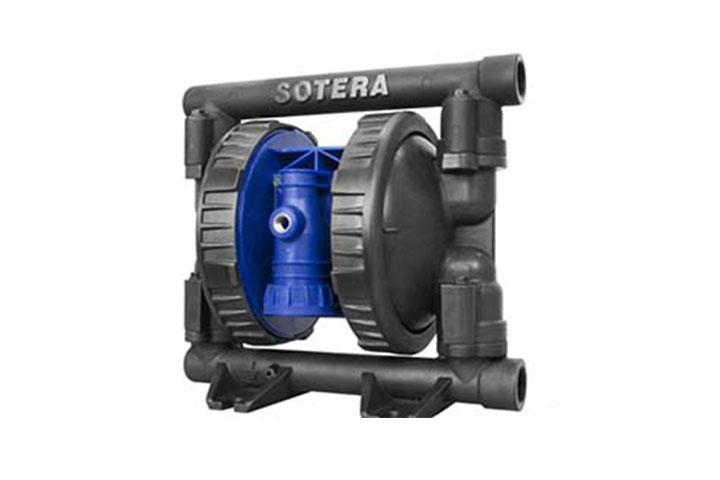 SP100-10B-CA-HHH metallic air-operated diaphragm pump