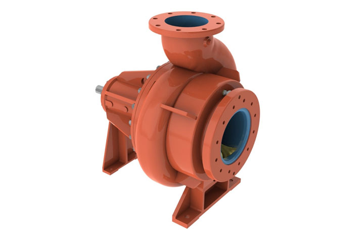 Fairbanks SRW Horizoal Screw-Channel Pump