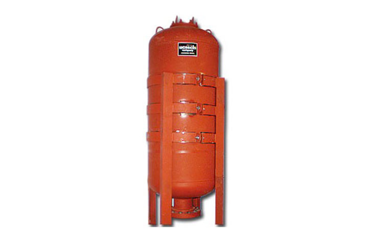 Wessels FireShock ASME Fire Protection Bladder Tank