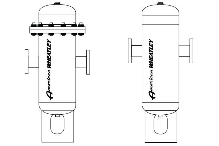 Wheatley HVAD / SVAD Air and Dirt Separator