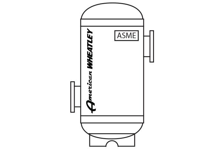 American Wheatley TAS TASS ASME Tangential Air Separator