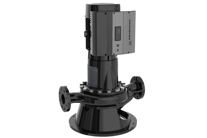 Grundfos Vlse Inline Pump With Integrated Vfd Bbc Pump