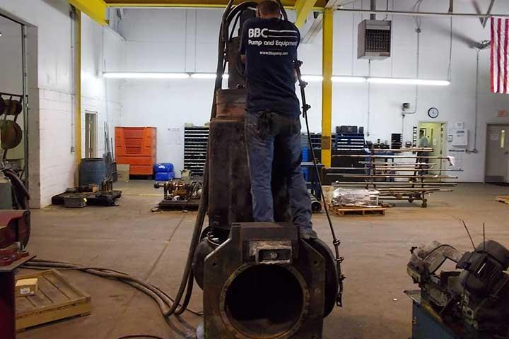BBC Repairs Big Pumps