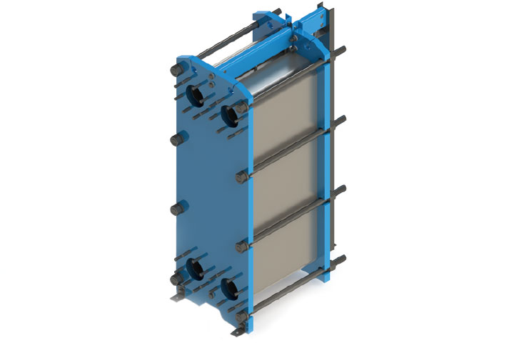 Wessels Wesplate Plate and Frame Heat Exchanger